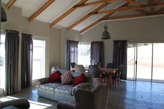 Lounge & Dining room in Mila's, Roodepoort Farm, Clarens
