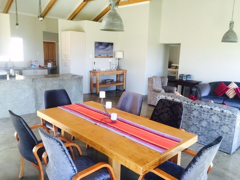 Dining Room Mila's Place, Roodepoort Farm, Clarens Self Catering